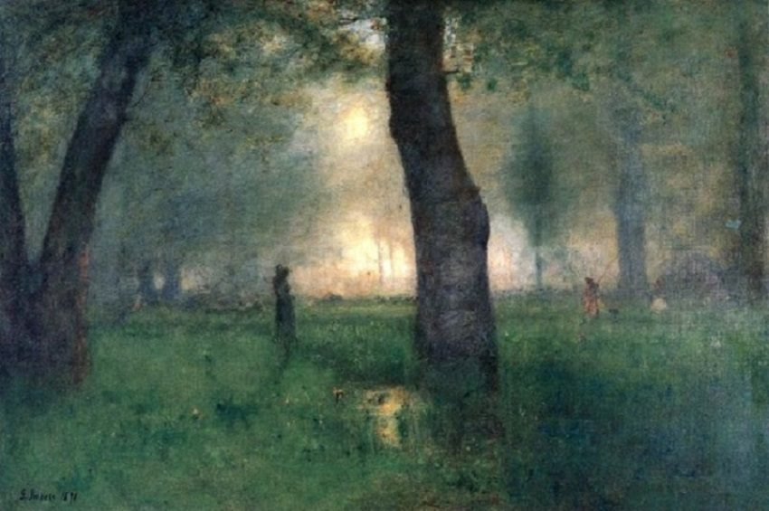 2 George Inness (1825-1894) The Trout Brook 1891